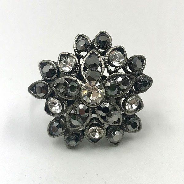 anillo-flor-plata