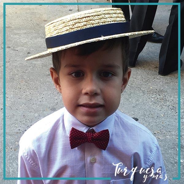Sombrero-niño-en-turquesa-y-mas