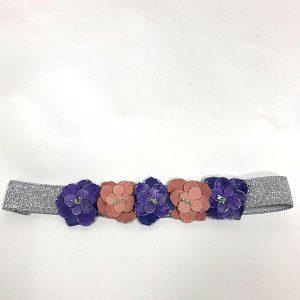 Cinturon de flores ideal para bodas o fiestas
