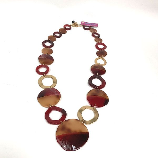 COLLAR-DADA-GRANATE-MARRON