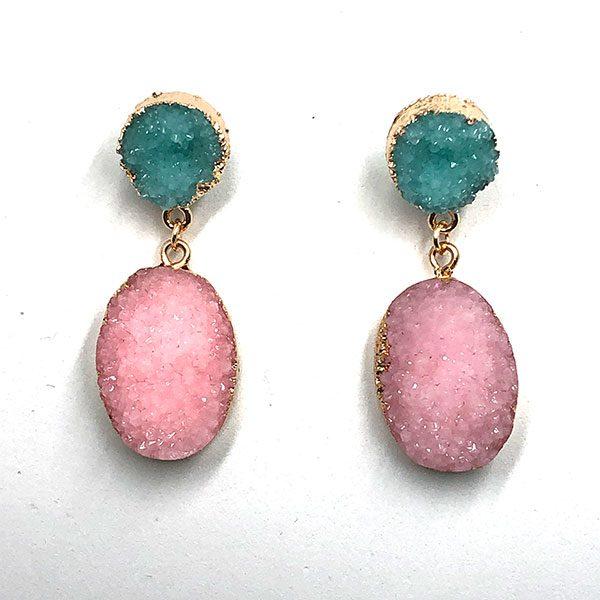 Pendientes-Calabria-rosa-y-azul