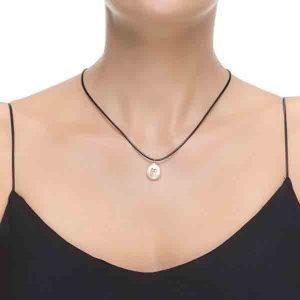 collar p perla zirconita