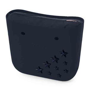 bolso obag negro con estrellas