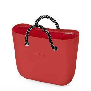 bolso obag mini rojo