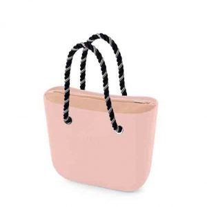 bolso obag mini rosa smoked