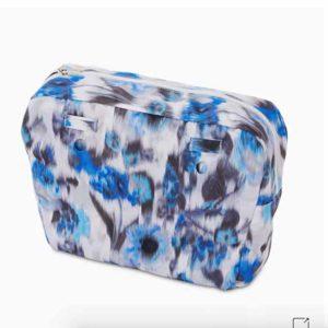 bolsa obag crepe chinese azul imperial